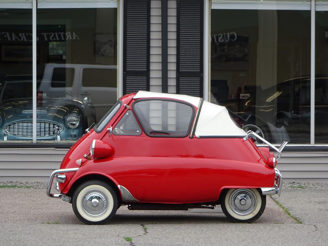 What Is A Car Transmission >> 1957 BMW, Isetta Convert.   Copley Motorcars