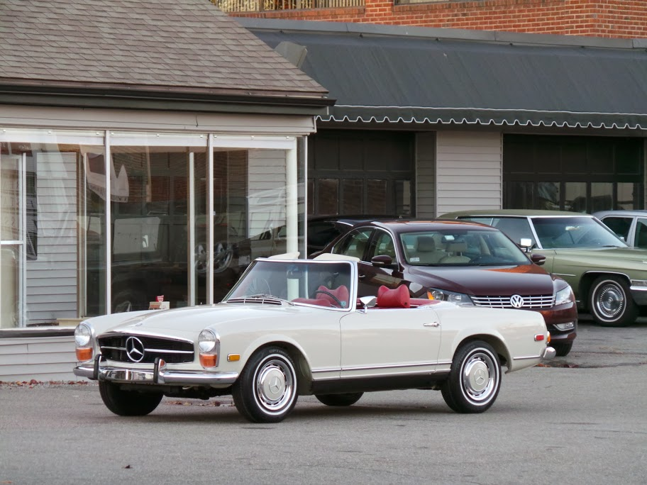 1970 mercedes benz 280sl roadster copley motorcars for Mercedes benz of southern california