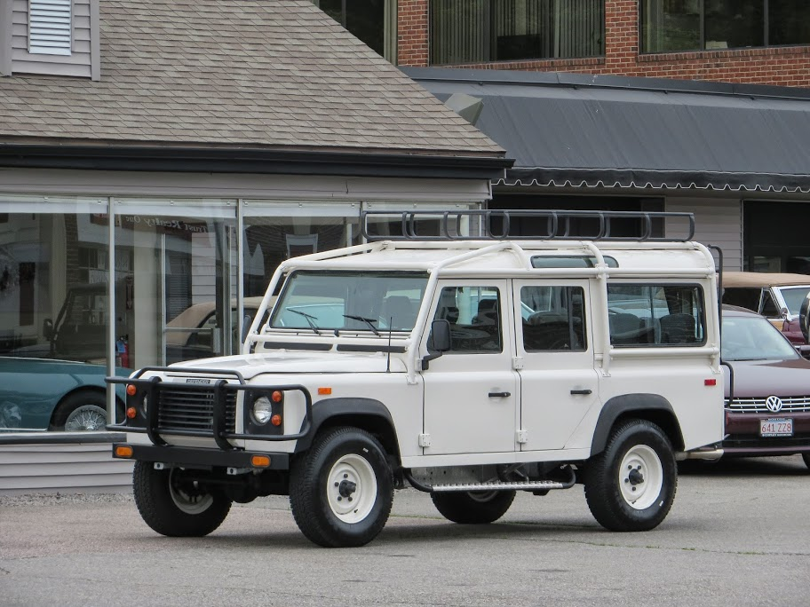 1993 land rover nas defender 110 150 copley motorcars for Copley motor cars land rover