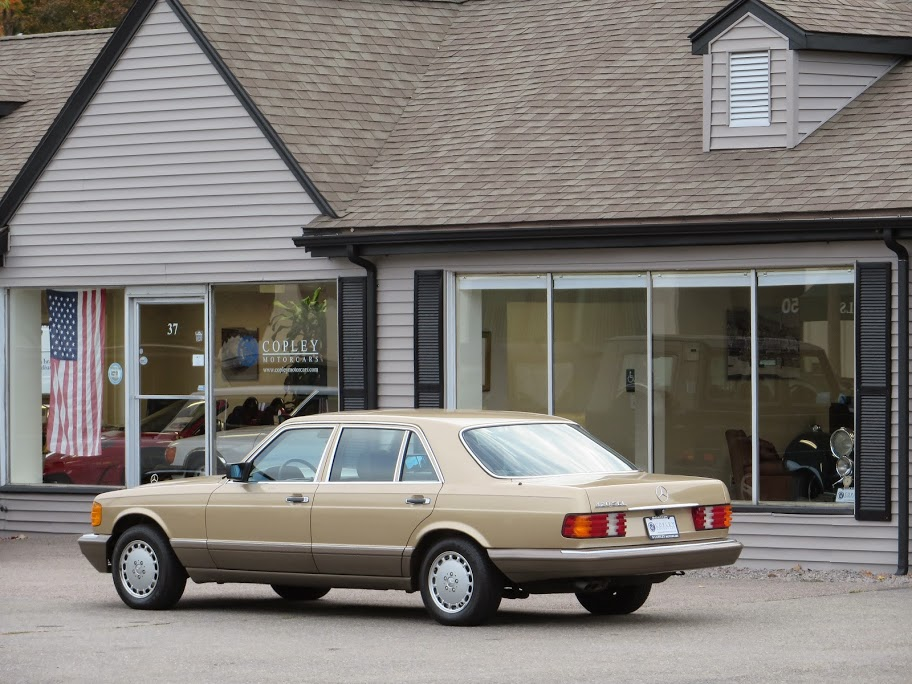 1986 mercedes benz 420sel copley motorcars for Mercedes benz new london ct