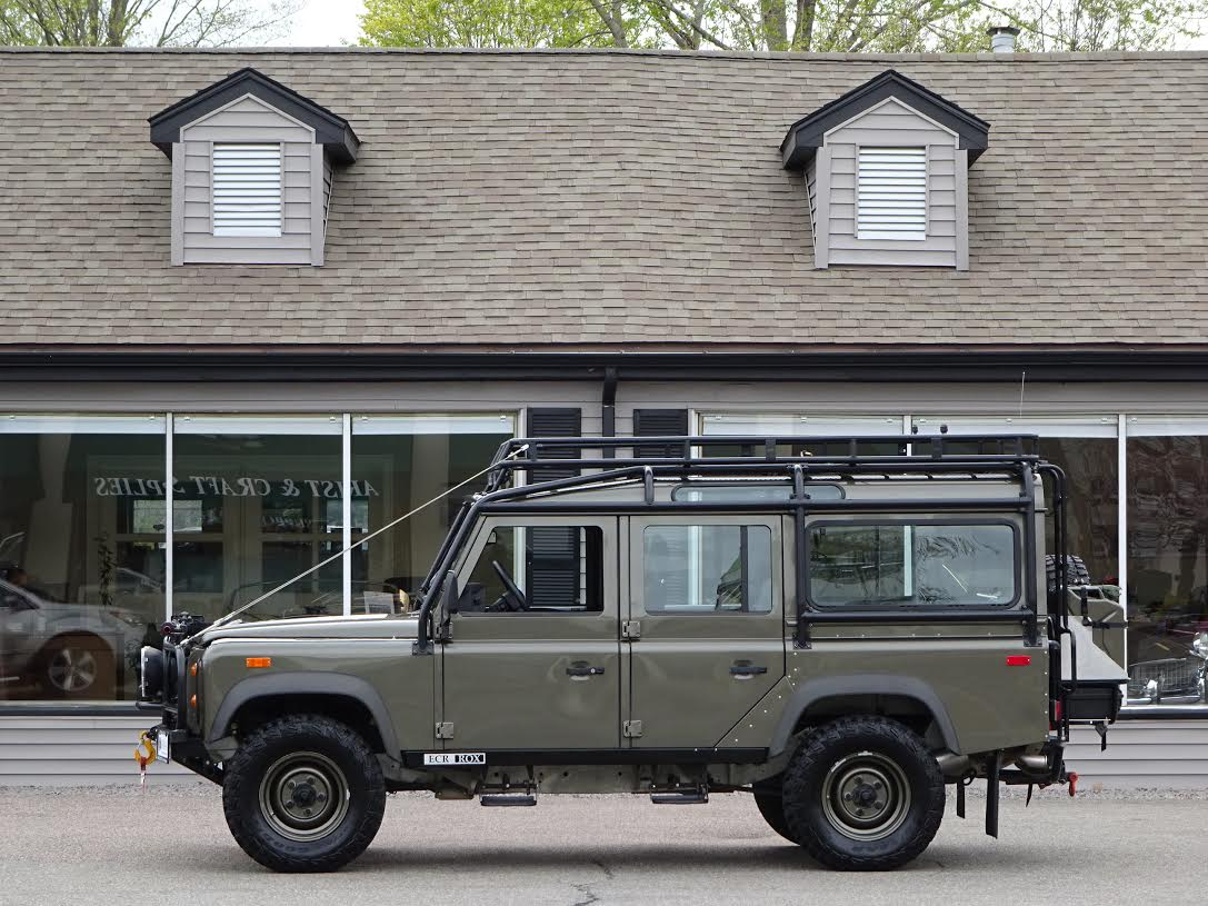 1993 land rover nas defender 110 312 copley motorcars. Black Bedroom Furniture Sets. Home Design Ideas