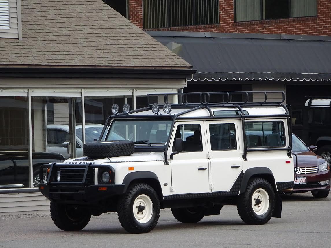 1993 land rover nas defender 110 485 500 copley motorcars for Copley motor cars land rover