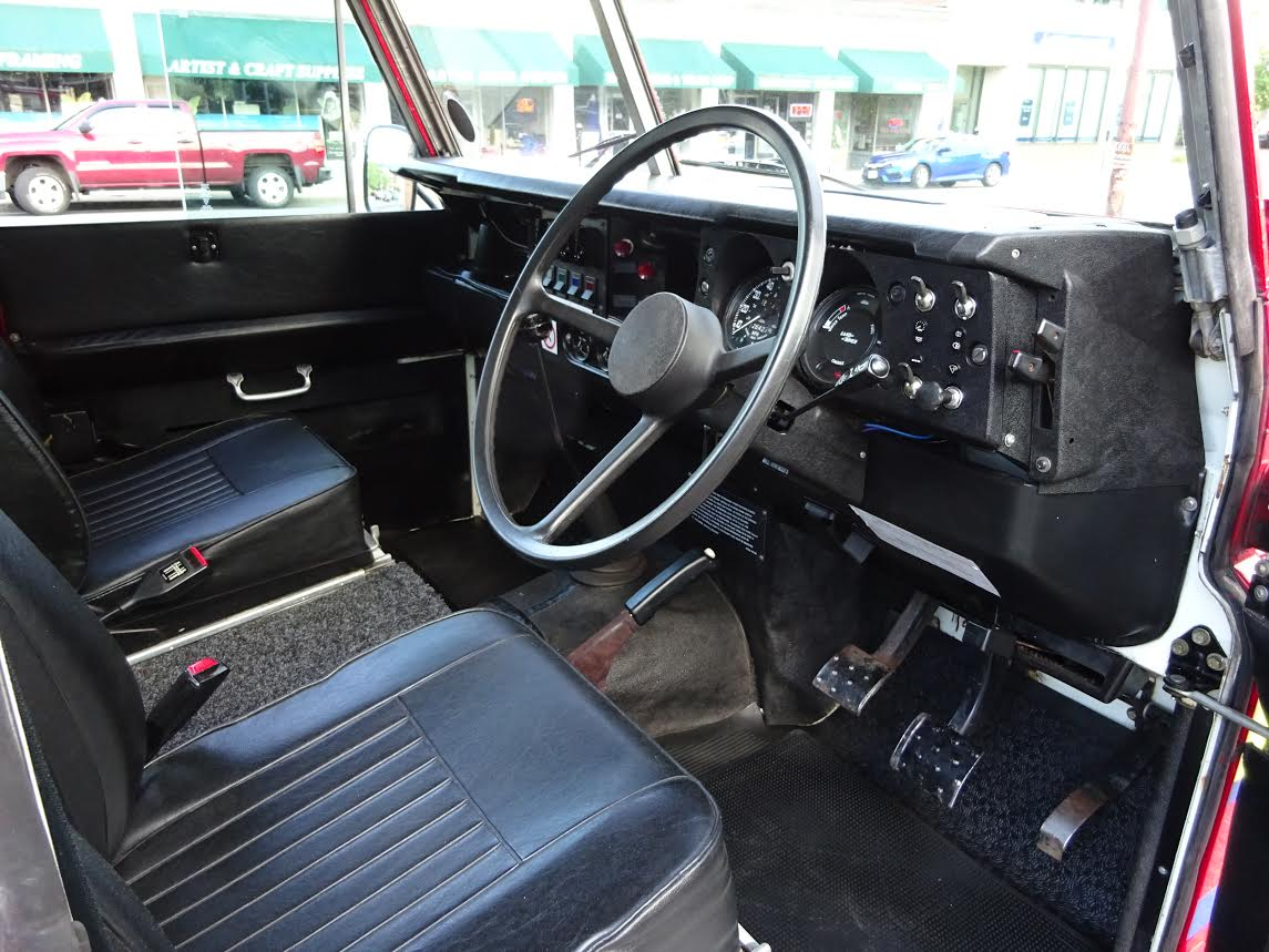 1981 Land Rover Stage One V8 fire truck | Copley Motorcars