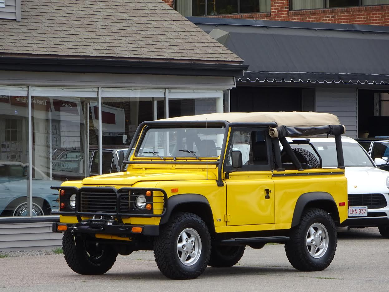 defender 90 import by land rover north america 94aa2