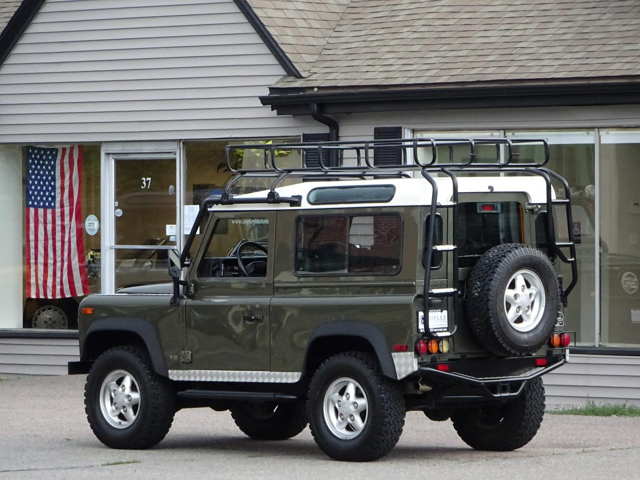 100 Green Land Rover Defender Used Land Rover