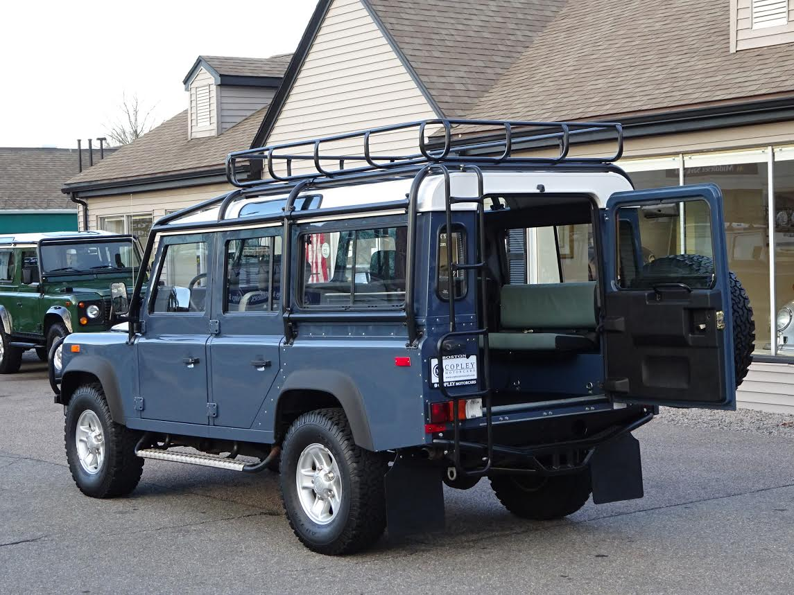 1993 land rover nas defender 110 4 copley motorcars for Copley motor cars land rover